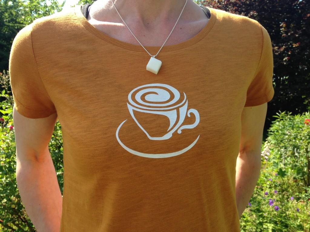"""T-Shirt + Kette """"Zucker"""""""